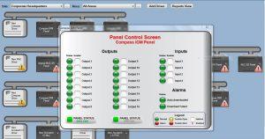 Panel Control Screen